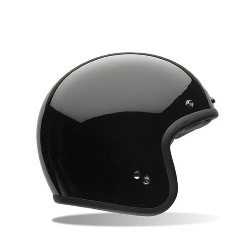 [BELL] CUSTOM500 SOLID GLOSS BLACK 커스텀500 솔리드 블랙 오픈페이스 헬멧