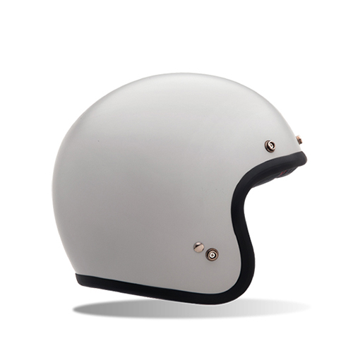 [BELL] CUSTOM500 SOLID VINTAGE WHITE 커스텀500 솔리드 빈티지 화이트 오픈페이스 헬멧